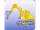 Gear No: DPLC16  Name: Duplo Picture Lottery Game Card, Construction Digger