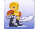 Gear No: DPLC17  Name: Duplo Picture Lottery Game Card, Construction Worker with Shovel