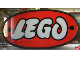 Gear No: DisplaySignLt09  Name: Display Sign Large LEGO Logo Round, Lighted