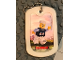 Gear No: Dogtag02  Name: Dog Tag, The LEGO Ninjago Movie Zane Pattern