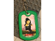 Gear No: Dogtag05  Name: Dog Tag, The LEGO Ninjago Movie Lloyd Pattern