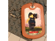 Gear No: Dogtag06  Name: Dog Tag, The LEGO Ninjago Movie Cole Pattern