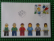 Gear No: FDC04  Name: LEGO Stamp Denmark First Day Cover, January, 2015