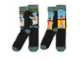 Gear No: FK011725  Name: Socks, Lego Star Wars Yoda, 2 Pair Set