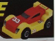 Gear No: GMRacer3  Name: General Mills Racer Car 3 - Red on Yellow on Black- Slick Wheels #33