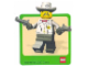 Gear No: Gstk013  Name: Sticker, Minifig Sheriff