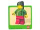 Gear No: Gstk019  Name: Sticker, Minifigure Jing Lee the Wanderer