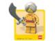 Gear No: Gstk021  Name: Sticker, Minifigure Maharaja Lallu