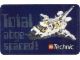 Gear No: Gstk048  Name: Sticker, 'Total abge-spaced!'