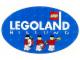 Gear No: Gstk084  Name: Sticker, Legoland Billund with Ambassador Minifigures on Blue Ellipse