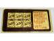 Gear No: Gstk093  Name: Sticker, Golden Bricks Promotion Golden Studs 74 - Sheet of 6