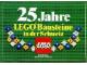 Gear No: Gstk098  Name: Sticker, 25 Jahre LEGO Bausteine in der Schweiz