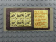 Gear No: Gstk138  Name: Sticker, Golden Bricks Promotion Golden Studs 75 - Sheet of 6