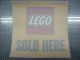 Gear No: Gstk142  Name: Sticker, LEGO Sold Here Window Sticker
