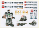 Gear No: Gstk147  Name: Sticker, Mindstorms NXT 2.0 Promotional Sheet