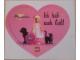 Gear No: Gstk185  Name: Sticker, Belville - Ich hab' euch lieb!