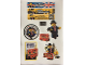 Gear No: Gstk192  Name: Sticker, Leicester Square LEGO Store Opening - Sheet of 9