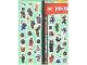 Gear No: Gstk206  Name: Sticker, Ninjago Masters of Spinjitzu, Sheet of 40