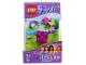 Gear No: IDLGL-KE3F  Name: LED Key Light Friends Brick 2 x 2 Key Chain (LEDLite)