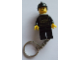 Gear No: KC014a  Name: Fireman with Black Helmet Key Chain (attached to right leg)