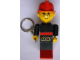 Gear No: KC017  Name: Maxifig Key Chain, Fireman with Lego Logo Pattern
