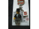 Gear No: KC039  Name: Lord Sam Sinister, (Orient Expedition) Key Chain with 2 x 2 Square Lego Logo Tile
