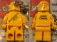 Gear No: KC061  Name: Classic Space Yellow Figure Key Chain - Birkenhead Point Sydney