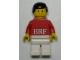 Gear No: KC119  Name: BRF Male Red Torso White Legs Key Chain