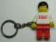 Gear No: KC121  Name: BRF Male White Torso Red Legs Key Chain