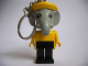 Gear No: KCF33  Name: Elephant 4 Key Chain - newer metal chain, red LEGO logo on back
