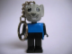 Gear No: KCF35  Name: Mouse 4 Key Chain - older metal chain, no LEGO logo on back
