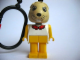 Gear No: KCF37  Name: Bunny 4 Key Chain - plastic chain, red LEGO logo on back