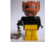 Gear No: KCF56  Name: Mouse 3 Key Chain - older metal chain, no LEGO logo on back