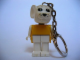 Gear No: KCF60  Name: Mouse 6 Key Chain - older metal chain, no LEGO logo on back