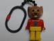 Gear No: KCF61  Name: Mouse 2 Key Chain - plastic chain, red LEGO logo on back