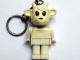 Gear No: KCF64  Name: Goat 1 Key Chain - older metal chain, no LEGO logo on back