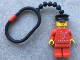Gear No: KCP06  Name: Minifigure Falck Male Key Chain - Plastic Chain
