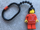 Gear No: KCP07  Name: Minifigure Falck Female Key Chain - Plastic Chain