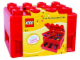 Gear No: KP006  Name: Brick Storage Carry Case - Red