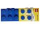 Gear No: L320UK  Name: Pencil Case, Blue Brick 2 x 5