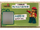 Gear No: LDCcard01  Name: Photo Id, Legoland Discovery Center Honorary Mini Master Model Builder Pattern