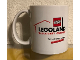 Gear No: LDCmug01  Name: Food - Cup / Mug, Legoland Discovery Center Dallas/Fort Worth Grapewine Mills Pattern