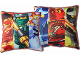 Gear No: LEG614  Name: Bedding, Pillow - Ninjago Double-Sided, 3 Figures on each side Pattern #3