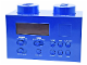 Gear No: LG11007  Name: Alarm Clock Radio - Blue