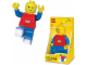 Gear No: LGL-TO1BT  Name: Flashlight, Minifigure Torch - Red Torso, Blue Arms and Legs
