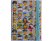 Gear No: LGO3103  Name: Notebook, Collectible Minifigures Turquoise