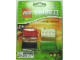Gear No: LGO3326  Name: Eraser, Ninjago Brick Eraser Set of 4 (Black, Bright Green, Red, White)