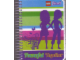 Gear No: LGO6553c  Name: Notebook, Friends 'Powerful Together', Spiral Bound, 200 Sheets