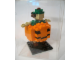 Gear No: LLCA37  Name: Miniland Figure in Pumpkin Costume, Brown Hair (Glued)