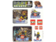 Gear No: LWCstkrr2  Name: Sticker, Lego World Club - Rock Raiders Sheet (928, 437)